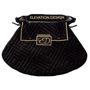 The Luxury Black Velvet Dress Bag from Elevation Design